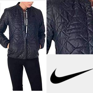 NIKE Quilted Insulated Primaloft Black Jacket